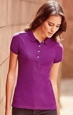 Russell R566F Ladies Piqué Stretch Polo