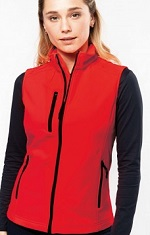 Kariban K404 Ladies Softshell Bodywarmer